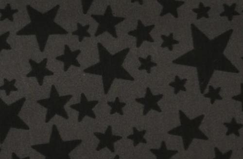 jersey etoiles noires fond gris