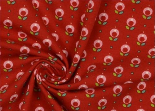 jersey fleurs rose tante ema