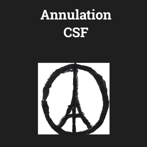 annulation csf