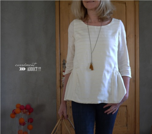 blouse christine cotonnade rayee lurex 2