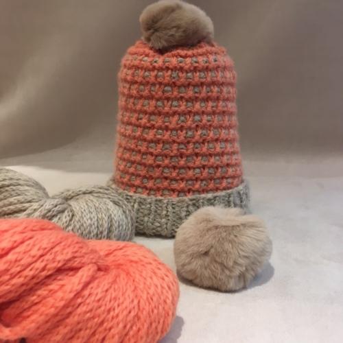 kit-bonnet-cocotte-beige-et-peche